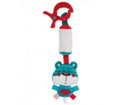 Plyšová hračka so zvončekom a klipom Canpol Forest Friends