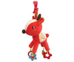 Plyšová hudobná hračka BabyMix Little Deer