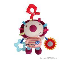 Plyšová vibračná hračka BabyMix Ježko