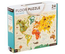 Podlahové puzzle Petitcollage Náš svet