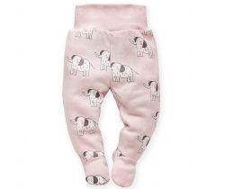 Polodupačky Pinokio Wild Animals Elephant Pink