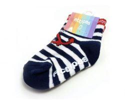 Ponožky Attipas Attibebe Marine Red