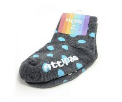 Ponožky Attipas Polka Dots Grey