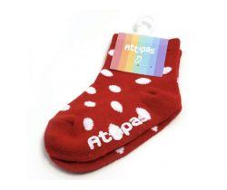 Ponožky Attipas Polka Dots Red