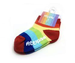 Ponožky Attipas Rainbow White