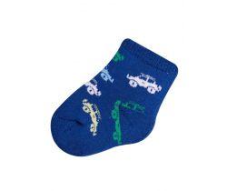Ponožky froté Yo Blue Cars