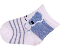 Ponožky froté Yo Blue Dog