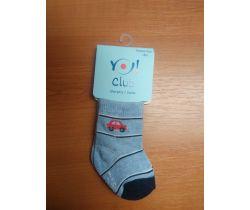 Ponožky froté Yo Blue/Red Car