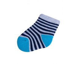 Ponožky froté Yo Dark Blue Stripes