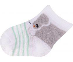 Ponožky froté Yo Grey Dog