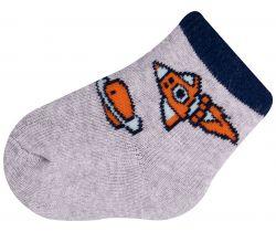 Ponožky froté Yo Orange Rocket