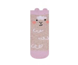 Ponožky Yo uši Zajačik béžový