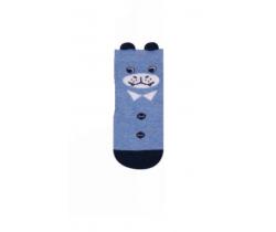 Ponožky Yo uši Medveď modrý