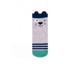 Ponožky Yo uši Psík sivý