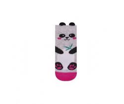 Ponožky Yo uši Panda ružová