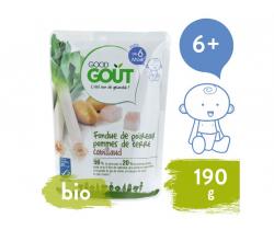 Pór s zemiačiky a treskou (190 g) Good Gout BIO