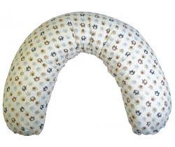 Poťah na dojčiaci vankúš 170 cm LittleUp Elephant beige