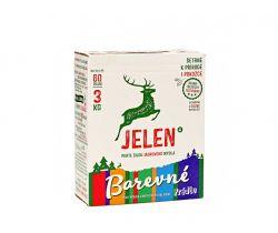 Prací prášok na farebnú bielizeň 3 kg Jelen