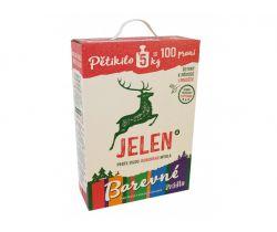Prací prášok na farebnú bielizeň 5 kg Jelen