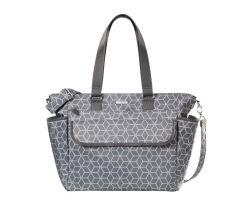 Prebaľovacia taška Joissy Fancy Geometric Grey