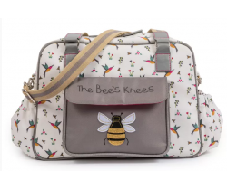 Prebaľovacia taška Pink Lining The Bees Knees