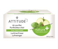 Prírodný čistiaci osviežovač vzduchu Attitude s vôňou zeleného jablka a bazalky 227 g