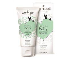 Prírodný krém na unavené nohy nie len pre tehotné s mätou 75 ml Attitude Blooming Belly