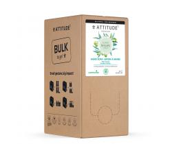 Prírodné mydlo na ruky Attitude Super leaves s detoxikačným účinkom - olivové listy - náhradné kanister 2 l