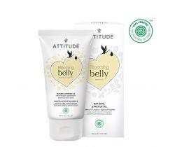 Prírodný olej Attitude Blooming Belly pre tehotné a po pôrode - argan a mandle 150 ml