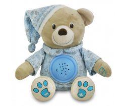 Projektor s melódiou BabyMix Medvedík Miláčik Modrá