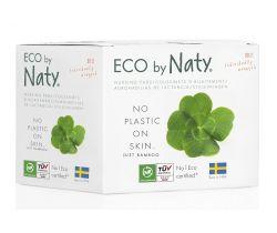 Prsné vložky pre dojčiace ženy 30 ks Naty Nature Womencare