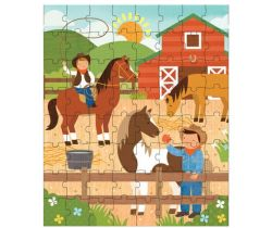 Puzzle v tube Petitcollage Na ranči