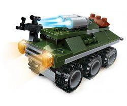Bojové vozidlo Seal ATGM Qman QM-09 Amphibious Panzer