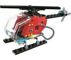 Záchranný vrtuľník Qman Water Cannon Fire Truck
