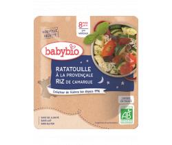 Ratatouille po provensálsky s ryžou 190g Babybio