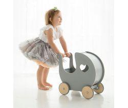 Retro kočík pre bábiky BabySteps