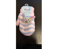 Rukavičky s obrázkom Yo Pink Bunny
