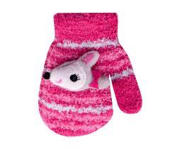 Rukavičky s obrázkom Yo Pink Fox