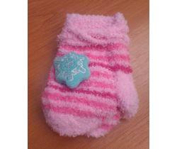Rukavičky sa obrázkom Yo Pink Snow
