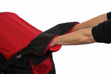 Rukávnik na kočík fleece/kožuch Emitex