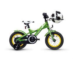 Detský bicykel S'COOL XXlite Futbal 12 od 99 cm