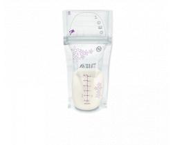 Sáčky materského mlieka 180 ml 25 ks Avent