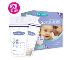 Sáčky na skladovanie materského mlieka 25 ks Lansinoh