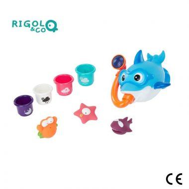 Sada hračiek do vody Badabulle Rigolo & CO