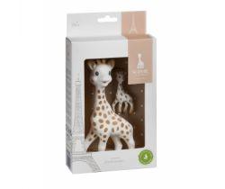 Sada hračka žirafa s príveskom na kľúče Vulli Sophie