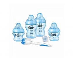 Sada dojčenských fľaštičiek s kefou na fľaše C2N Tommee Tippee