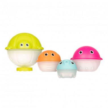 Sada kreatívnych hračiek do vody s dažďovou sprchou Canpol