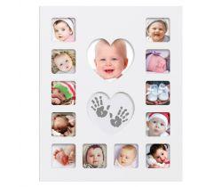 Sada pre odtlačok Happy Hands Baby First Year Kit