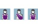 Šatka na nosenie detí Manduca Sling
