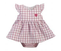 Šaty s body bez rukávov Pinokio Sweet Cherry Pink